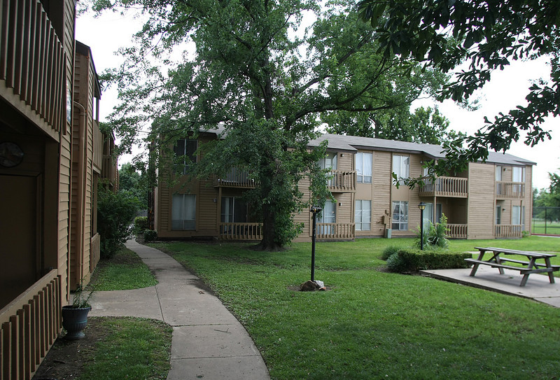The Red Fox apartment complex in Tulsa sold for $2.5 million dollars.