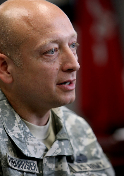Tulsa Corps of Engineers commander Colonel Funkhouser, is moving to a new position in Afghanistan.
