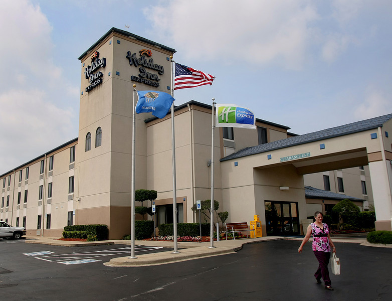 Tulsa hotel owners Pete and Tina Patel paid $4.4 million for the 65-room Holiday Inn Express at 3215 S. 79th East Ave. in Tulsa.