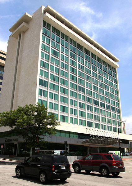 The recently remodeled Holiday Inn in downtown Tulsa.