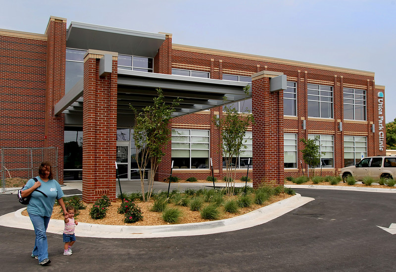 The Utica Park Clinic is the first completed project in the proposed Village on Main project in Jenks.