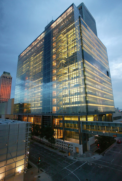 Tulsa City Hall located in the One Technology Center building.