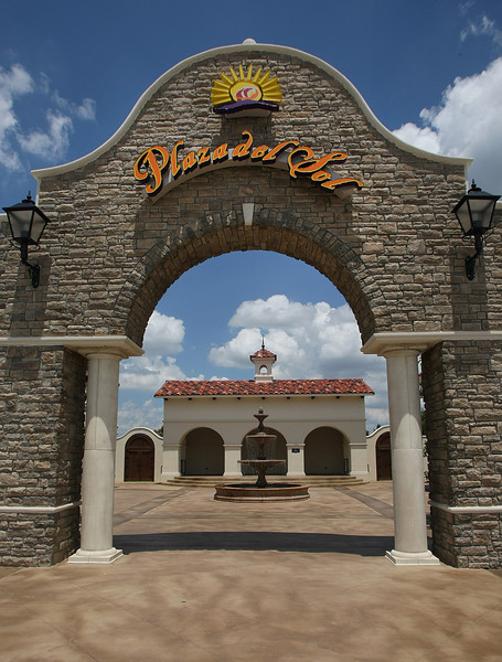 The Plaza Del Sol Shopping center in South Tulsa.