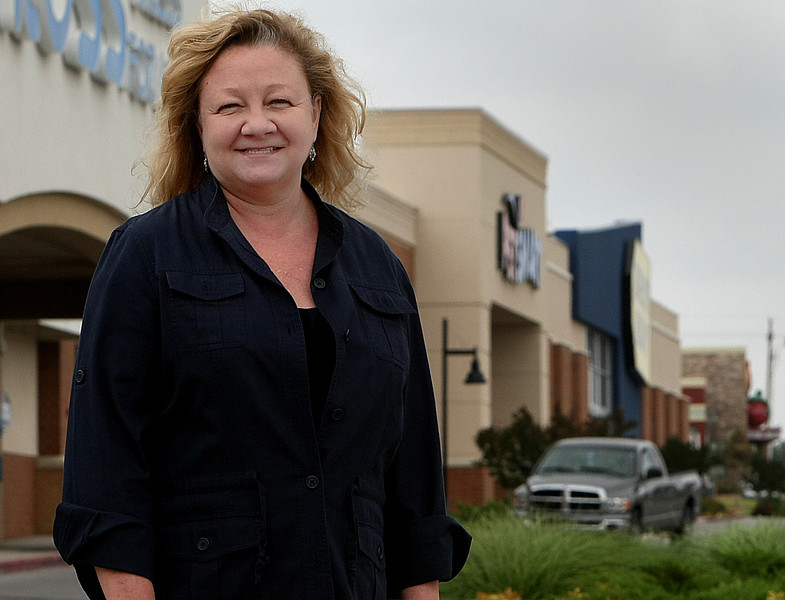 Mendy Parish has taken over leasing chores at Tulsa Hills Shopping Center.