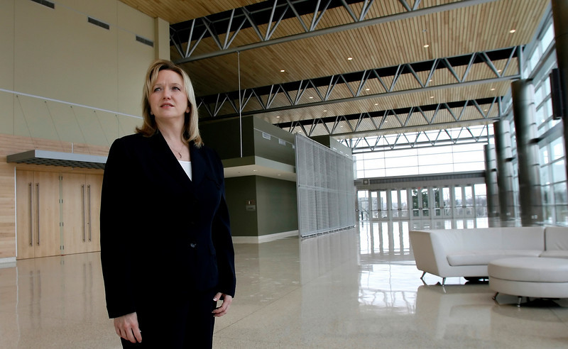 Amy Huntley, VP of Convention Sales & Marketing, stood before Tulsa City Council Thursday night asking that $100,000 cut from her budget be restored.
