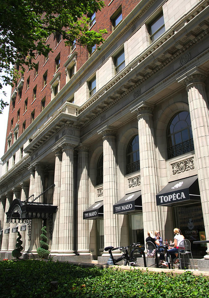 The recently remodeled Mayo Hotel in downtown Tulsa.
