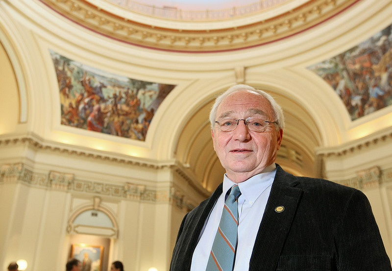 State Rep. Bill Nations, D-Norman, is serving his last year in office. PHOTO BY MAIKE SABOLICH