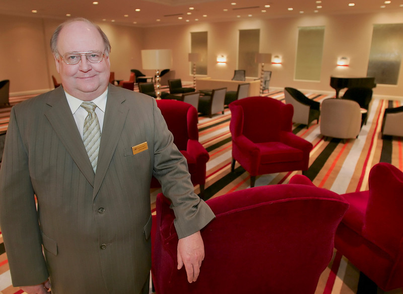 Marlin Keranen, General Manager of the Crowne Plaza Hotel in Tulsa.