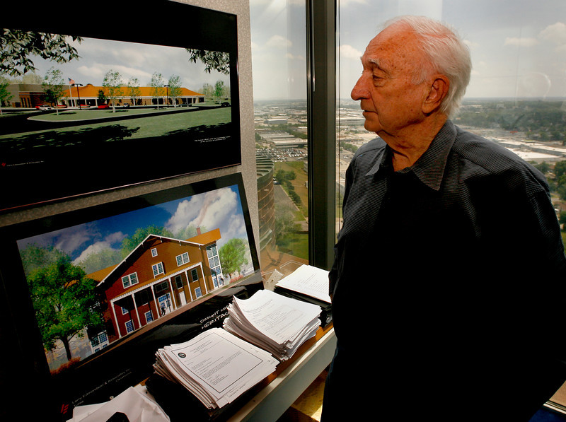Tulsa architect Larry Edmondson discusses plans for a $5 million expansion and renovation of the East Central Oklahoma Electric Cooperative headquarters in Okmulgee.