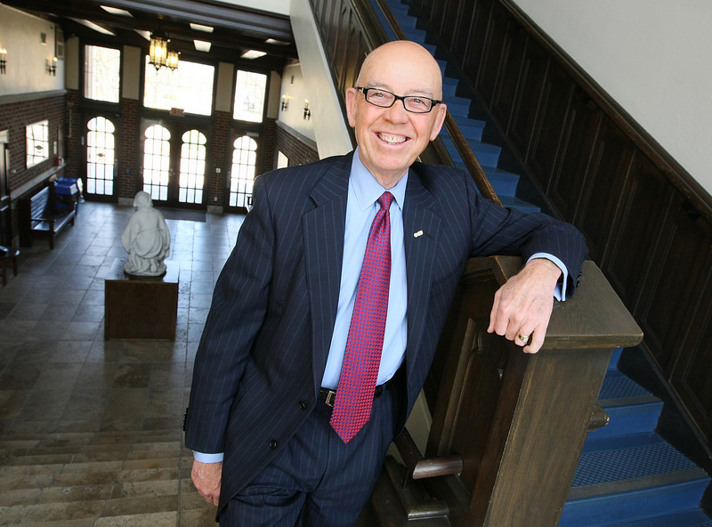 Oklahoma City University President Tom McDaniel was named as chairman for the MAPS 3 Citizens Advisory Board. PHOTO BY MAIKE SABOLICH