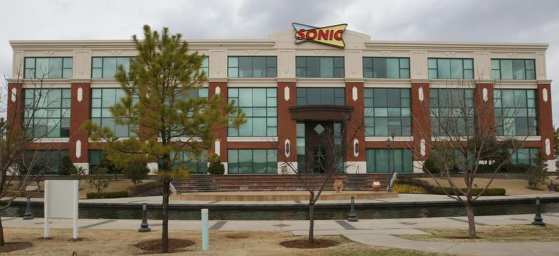 Sonic headquarters in Bricktown. PHOTO BY MAIKE SABOLICH