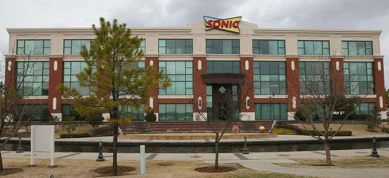 Sonic headquarters in Bricktown. PHOTO BY MAIKE SABOLICH