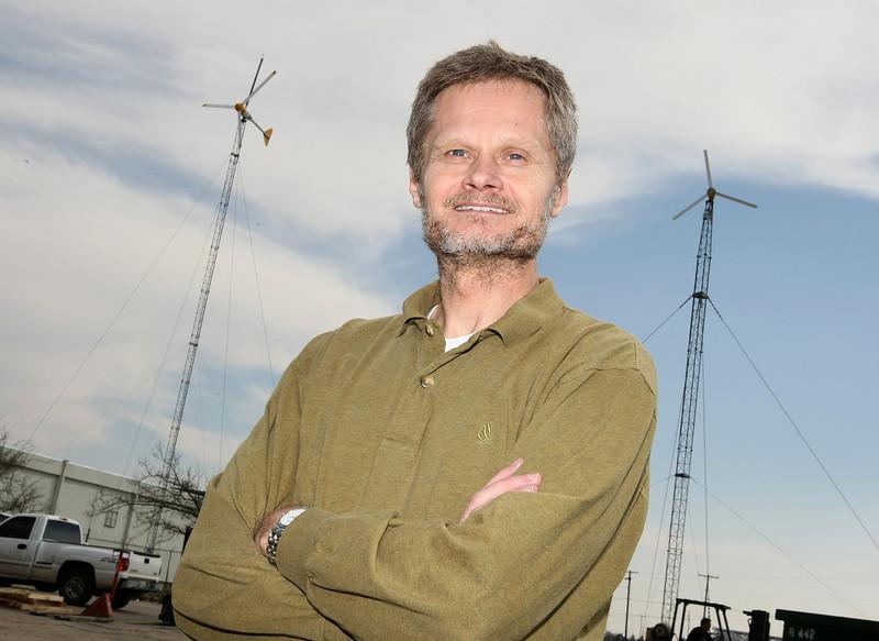 Mike Bergey, president of Bergey Windpower. PHOTO BY MAIKE SABOLICH