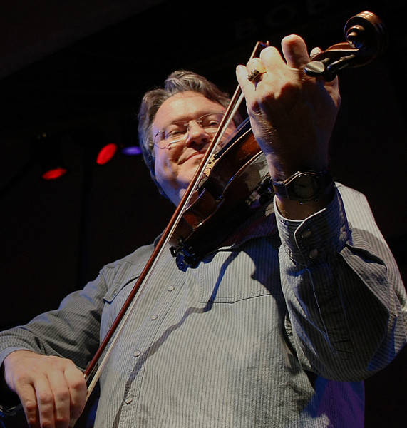 Tulsa fiddle player Shelby Eicher performs at the Cain's Ballroom.