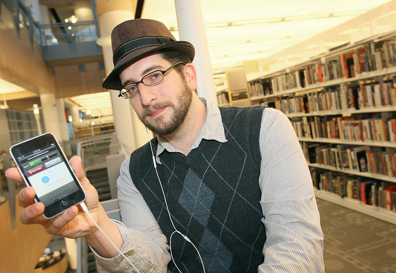 Eric Granata created the iPhone application Audio Footnote. PHOTO BY MAIKE SABOLICH