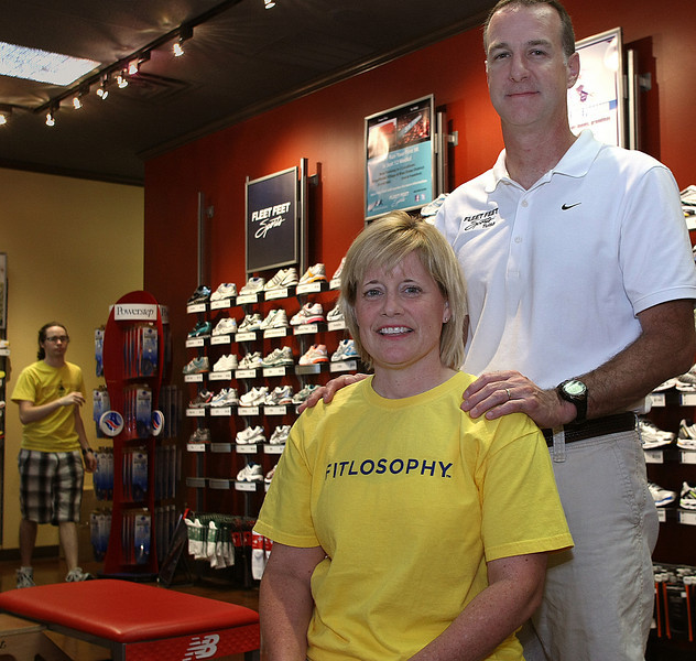 Fleet Feet owners Lori and Tim Dreiling plan to open a second store in downtown Tulsa.