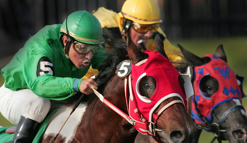 The state's horse racing industry has been pinned to the rail by fallingreceipts from Tulsa's three area Indian Tribes. The state's horse racing commission reports a 29 percent, or $2 million, drop in revenue paid by theTirbes in 2009.