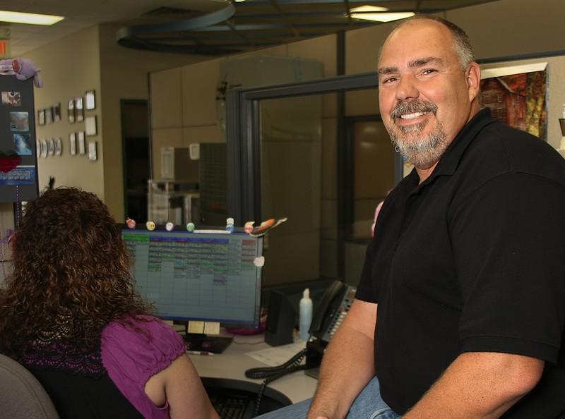 President of Custom Air Conditioning Bob Townsend in his Broken Arrow headquarters.