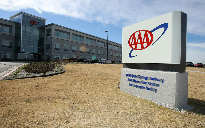 AAA building at 3100 Quail Springs Parkway. PHOTO BY MAIKE SABOLICH