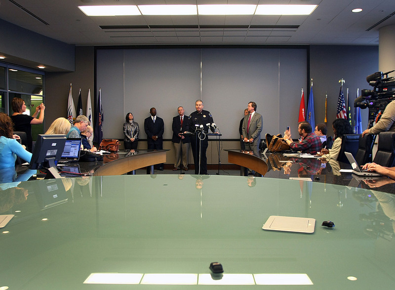 In a press conference Tulsa Mayor Dewey Bartlett announced the city will keep the interim Tulsa Police Chief Chuck Jordan on as the Chief.  Jordan has served the past 9-months as the Tulsa Police Chief on a temporary basis after former Chief Ron Palmer retired in January of this year.