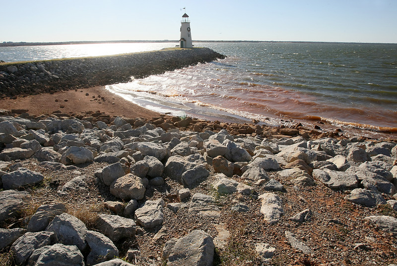Lake Hefner. PHOTO BY MAIKE SABOLICH