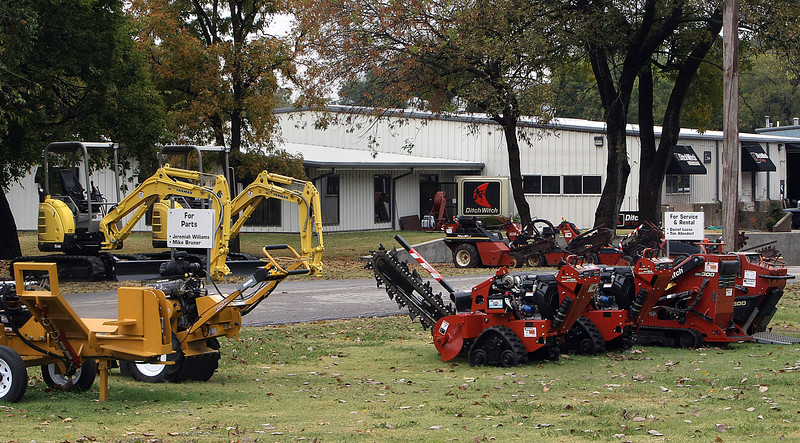 Ditch Witch of Tulsa will double its size in 2011 when they move to a newly acquired building along HWY 169 in North Tulsa..
