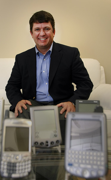 Clint Parr, President and CEO of MacroSolve, pauses for a photo in the companies Tulsa Headquarters.
