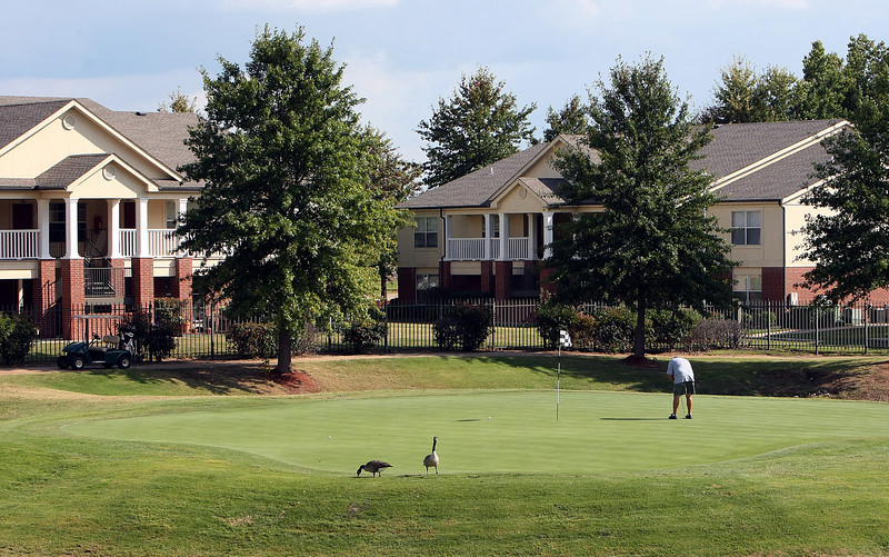 The Links is representative of what owner Lindsey Management of Fayetteville, Ark., will soon raise near the new St. John Broken Arrow hospital.