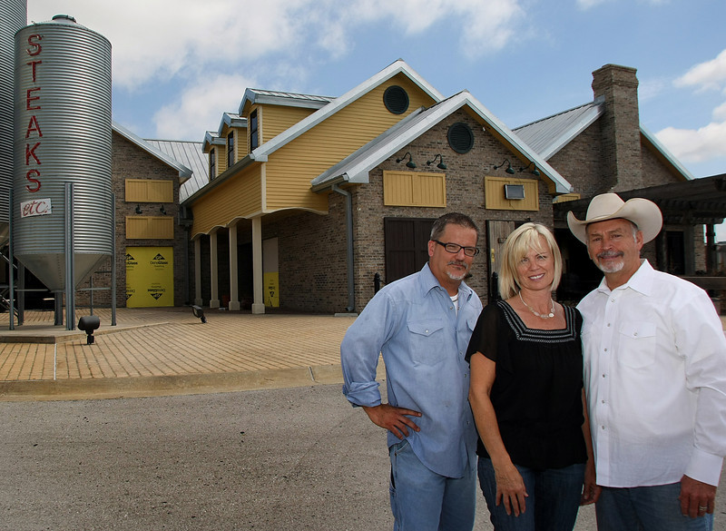 Opening the Go West Restaurant and Saloon in West Tulsa are Chef Doug Atkinson and Co-owners Aila Heiskanen Wimpy and Johnny Wimpy.