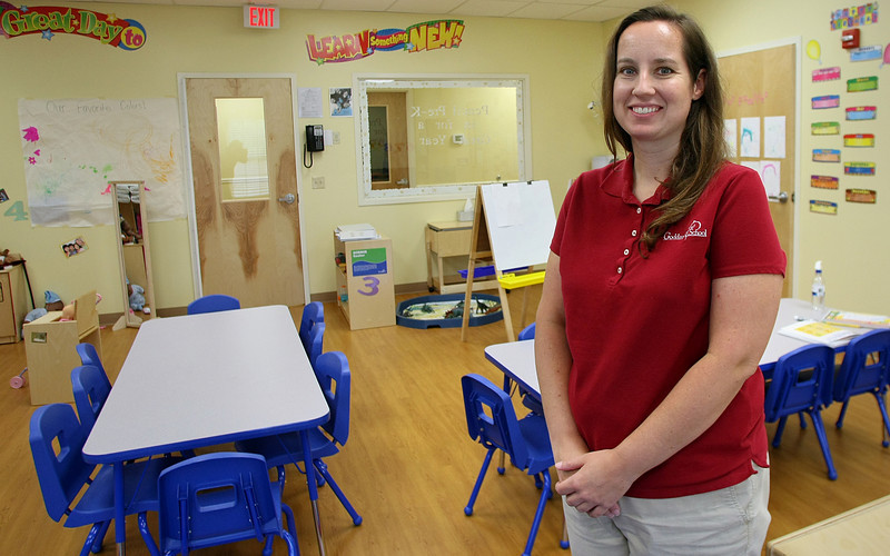 Jennifer Richey is co-owner and administrator of the new Goddard School in Jenks.