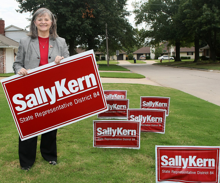 Sally Kern, Republican candidate for House District 84. PHOTO BY MAIKE SABOLICH