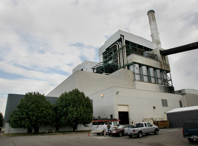 The PSO coal fired electrical generation plant in Oolagah.