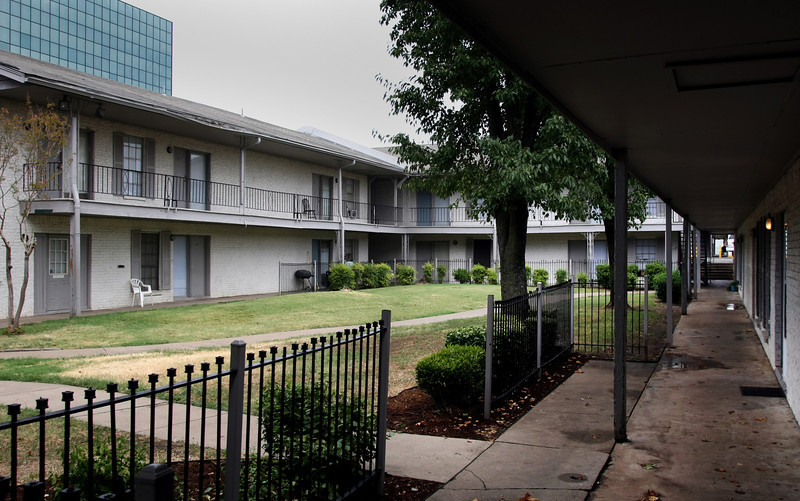 The Savannah South Apartments and three other Remy apartment complexes are scheduled to be auctioned Tuesday at the Tulsa County Sheriff's sale.