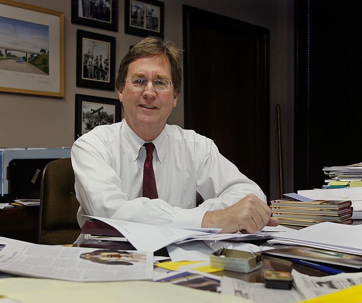 Dewey Batlett when he was a Tulsa mayoral candidate.   **** FILE PHOTO *****