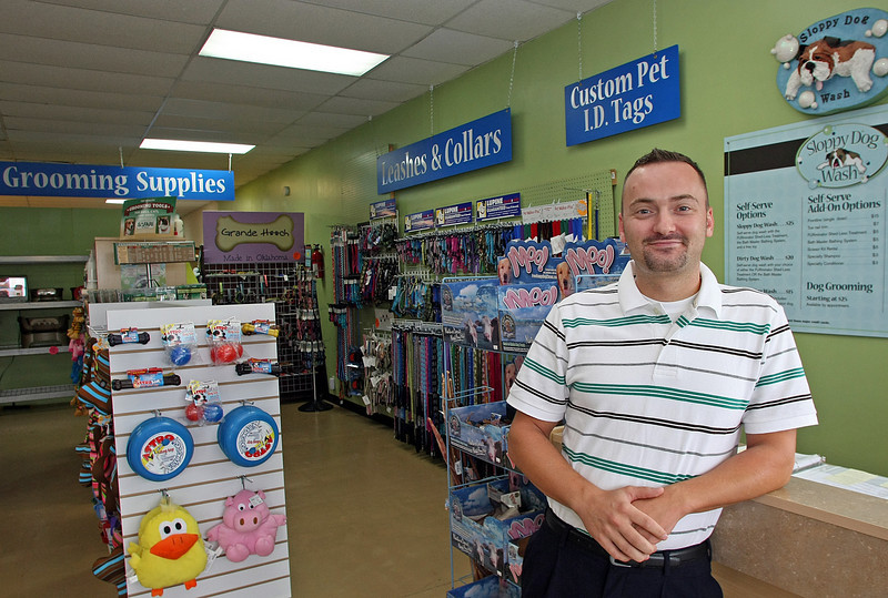 Sean Boles, Owner of Sloppy Dog Wash in Tulsa, is planning to expand the company to Broken Arrow.