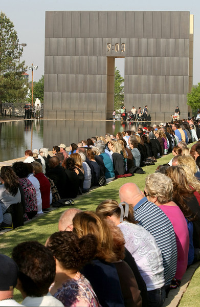 16th anniversary of the 1995 Oklahoma City bombing. PHOTO BY MAIKE SABOLICH