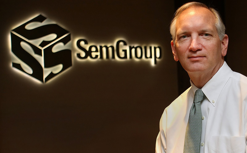 Bob Fitzgerald, Chief Financial Officer of Tulsa based Semgroup.