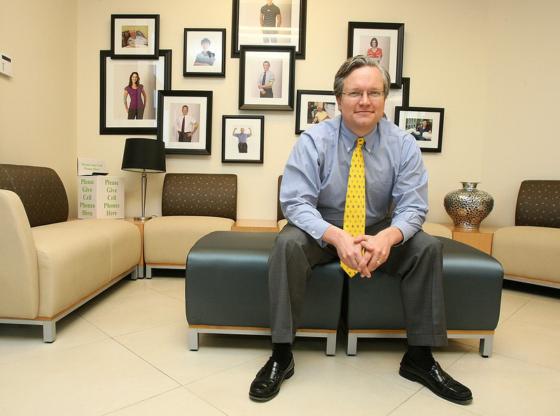 Dr. John Armitage, CEO of the Oklahoma Blood Institute. PHOTO BY MAIKE SABOLICH