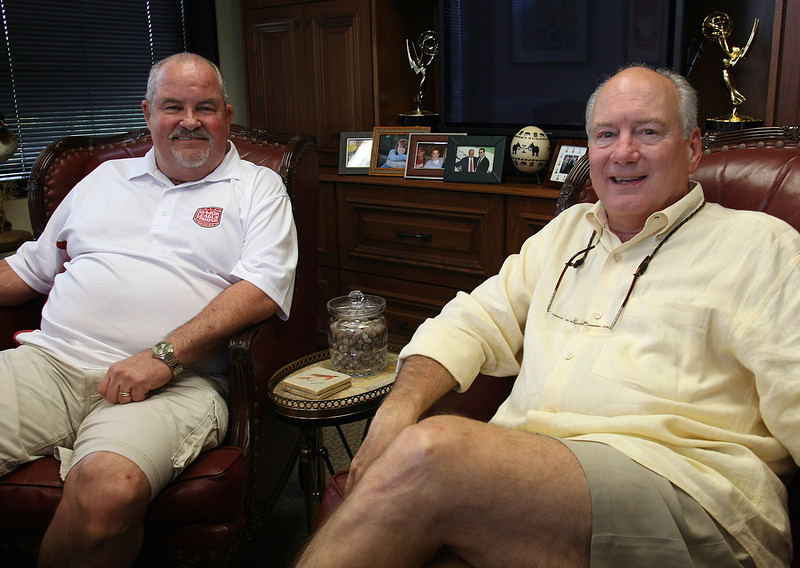 Commissioner of Major League Fishing Don Rucks and Jim Wilburn Jim Wilburn is Chairman/Founder. founded Winner Communications in their Tulsa Office.