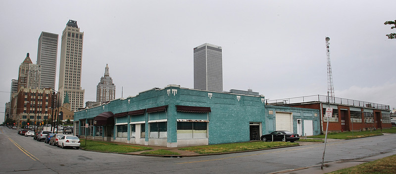 Many of the buildings on the block at 4th and Elgin in downtown Tulsa  will be repurposed into retail establishments and apartments.<br /> <br /> *** copy desk*** contact Kirby about exact details about this project