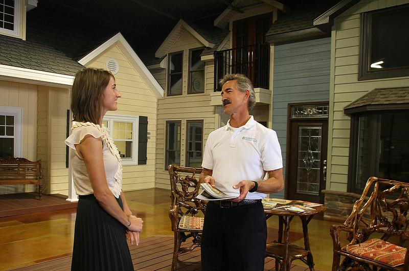 Burnett Windows Director of Marketing Sarah Shanks and Owner Scott Burnett discuss Burnett Windows testing the Oklahoma City waters withrotating exhibitions at different Sam's Clubs locations.