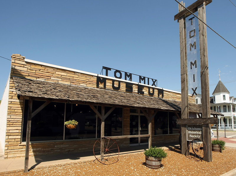 The Tom Mix Museum in Dewey Oklahoma.