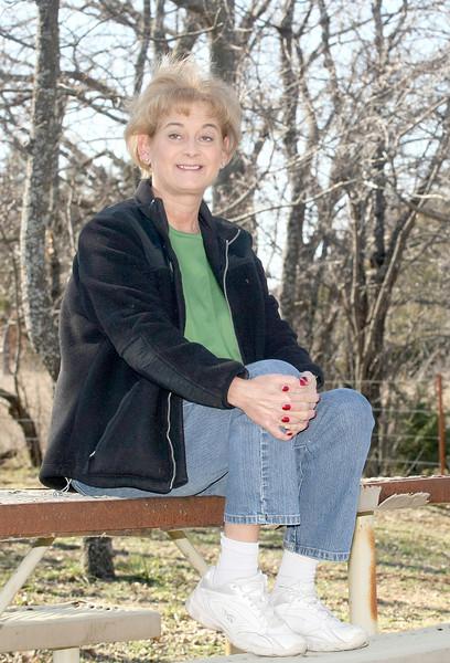 Jill Dudley, president of Moore Association of Classroom Teachers. PHOTO BY MAIKE SABOLICH