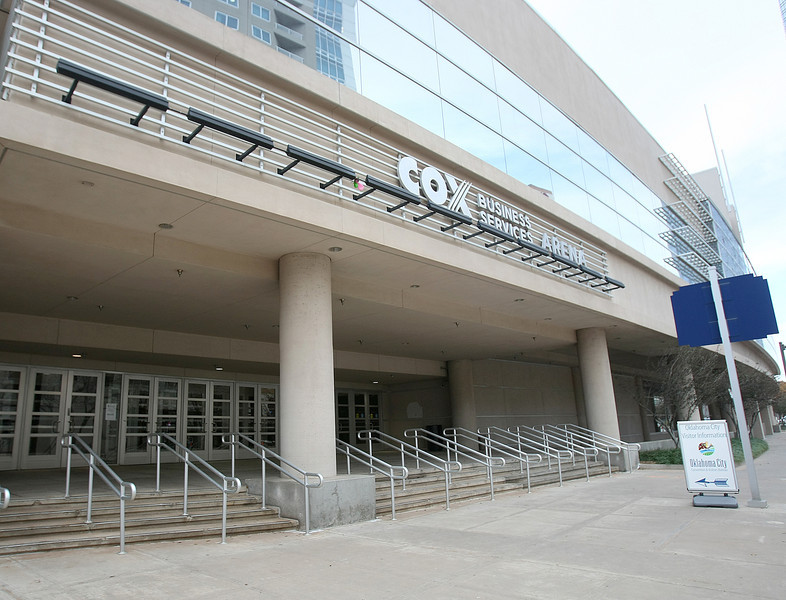 Cox Center downtown. PHOTO BY MAIKE SABOLICH