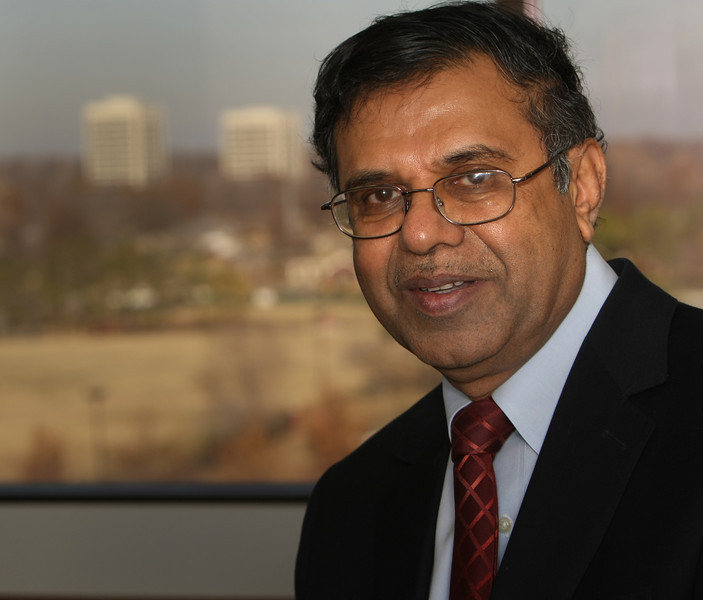 Sadi Joshi, President of Joshi Technologies International in Tulsa.