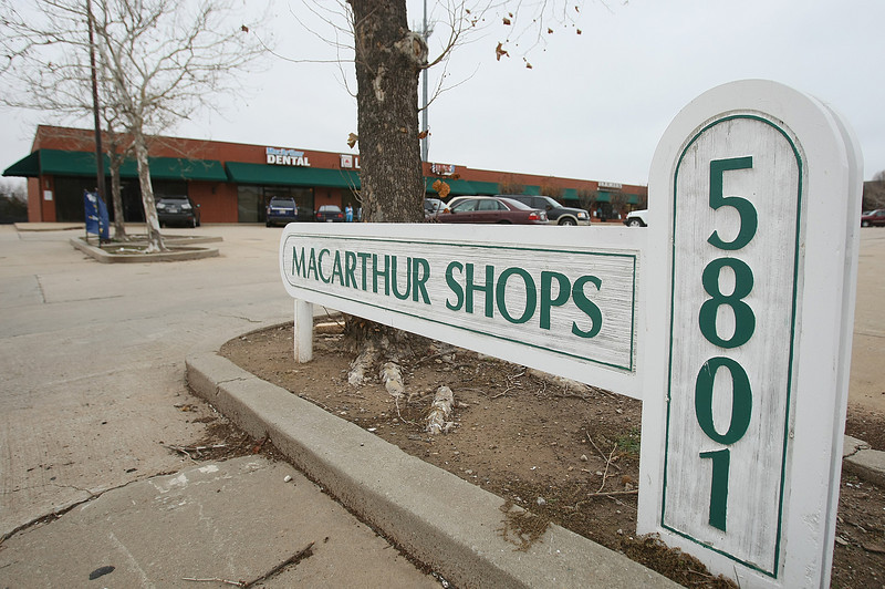 McArthur Shops on the corner of Britton and McArthur. PHOTO BY MAIKE SABOLICH