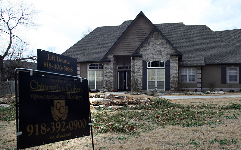 A home for sale in South Tulsa.
