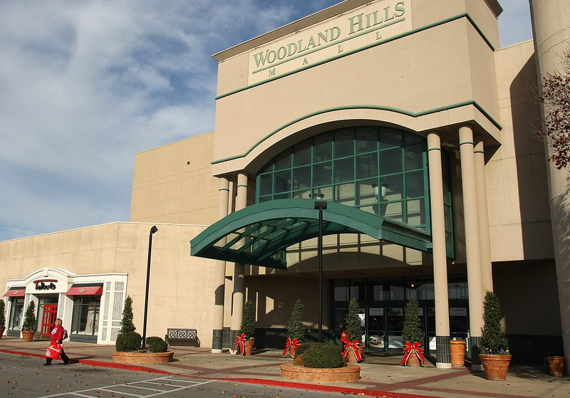 Woodland Hills Mall in South Tulsa.