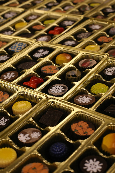 Chocolates from Glacier Confection in the Brady Art District in downtown Tulsa.<br /> <br /> They make nice thank you gifts as well as corporate gifts.