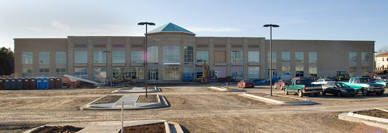 The Lifetime Fitness Complex under construction in Bixby.
